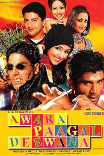 دانلود فیلم هندی آواره مجنون دیوانه Awara Paagal Deewana